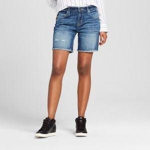 Low-Rise Boyfriend Jean Shorts - Mossimo